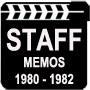 Staff Memos